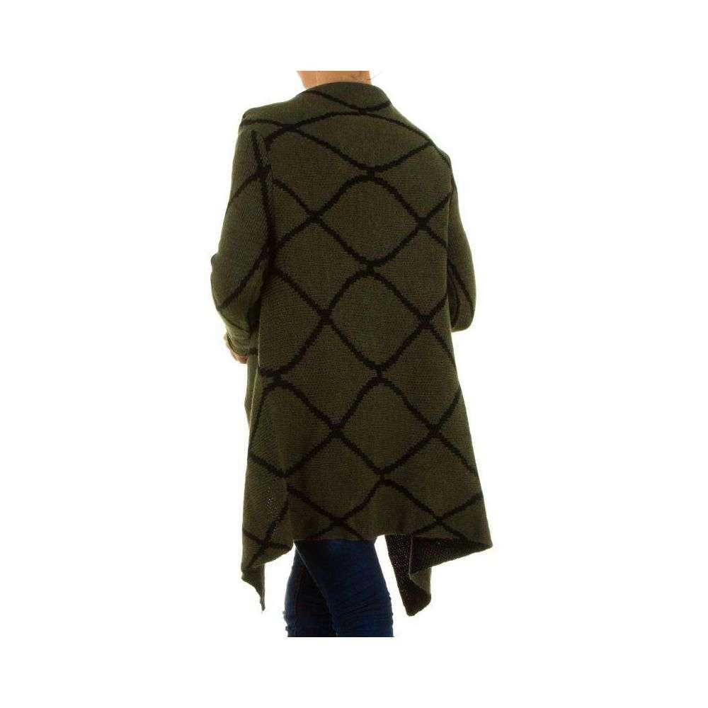 damen pullover gr one size khaki. Black Bedroom Furniture Sets. Home Design Ideas