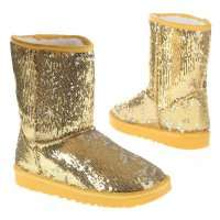 Damen Stiefel - gold²