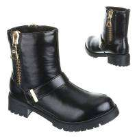 Damen Boots - blackgold