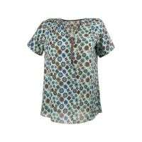 Damen Bluse Gr. one size - turkis²