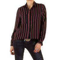 Damen Bluse - blackred