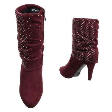 Damen Stiefel - red