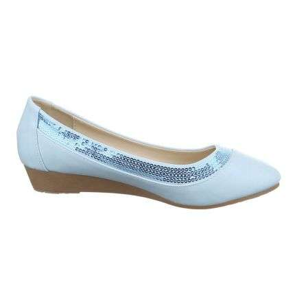 Damen Ballerinas - LT.blue