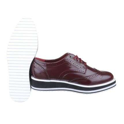 Damen Pumps - bordo