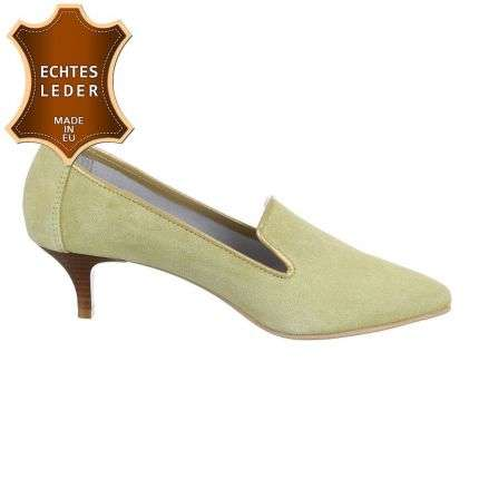 Damen Pumps - lemon