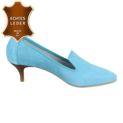 Damen Pumps - turquese
