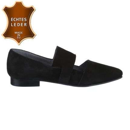Damen Leder Pumps - black