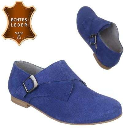 Damen Leder Pumps - blue