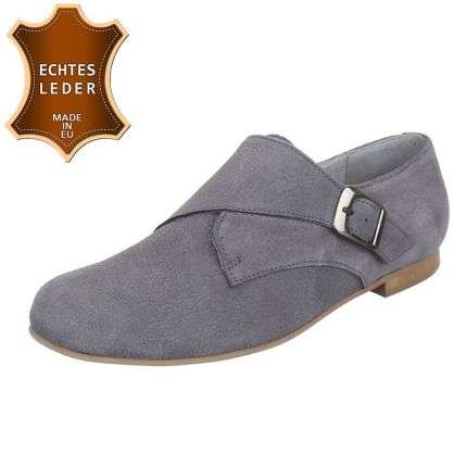 Damen Leder Pumps - grey