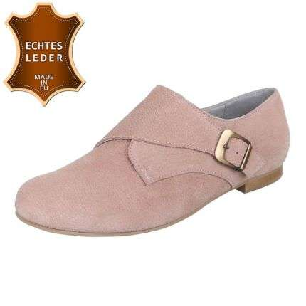 Damen Leder Pumps - nude