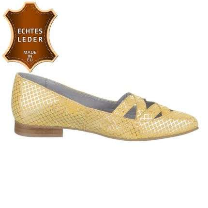 Damen Leder Pumps - canario