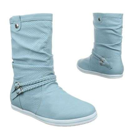 Damen Stiefel - blue