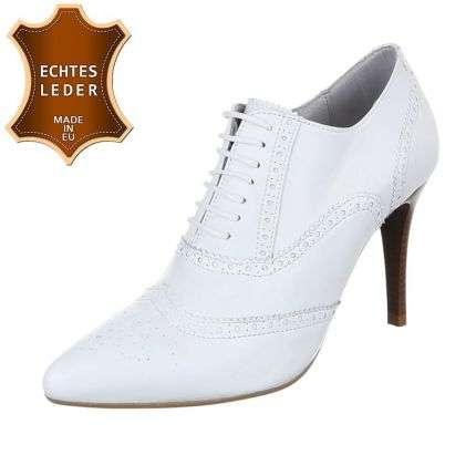 Damen Leder Pumps - white