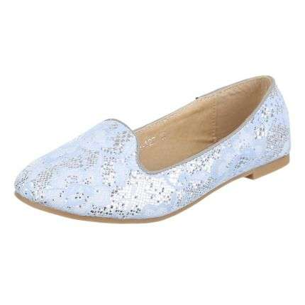 Damen Ballerinas - L.blue