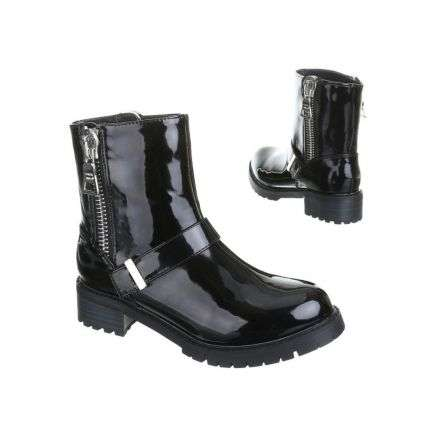 Damen Boots - blacksilver