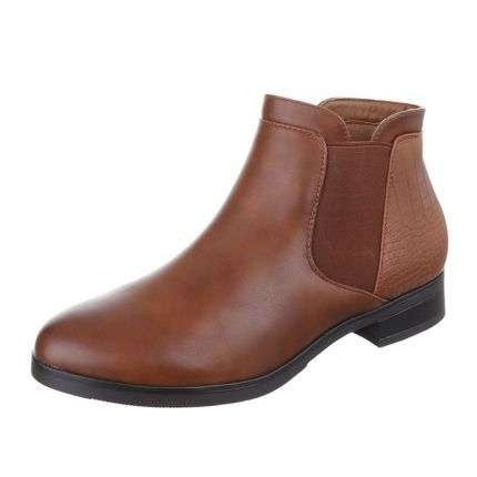 Damen Stiefeletten - lightbrown