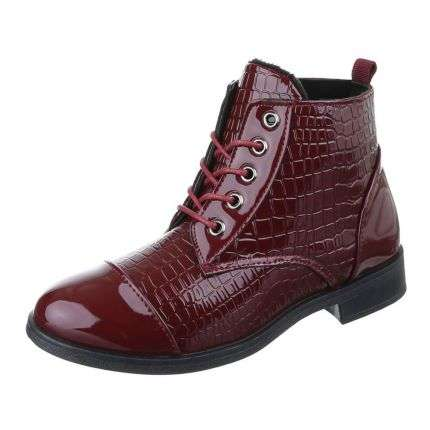 Damen Stiefeletten - red