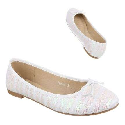 Damen Ballerinas - white