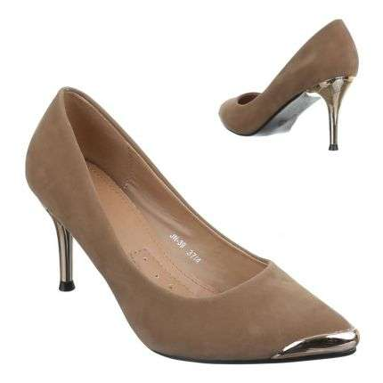 Damen Pumps - khaki