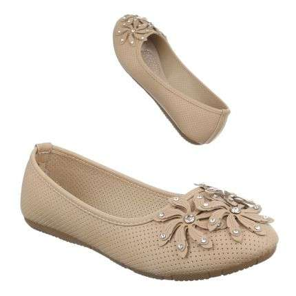 Damen Ballerinas - cream