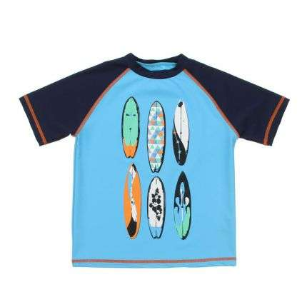 Kinder T-Shirt - blue