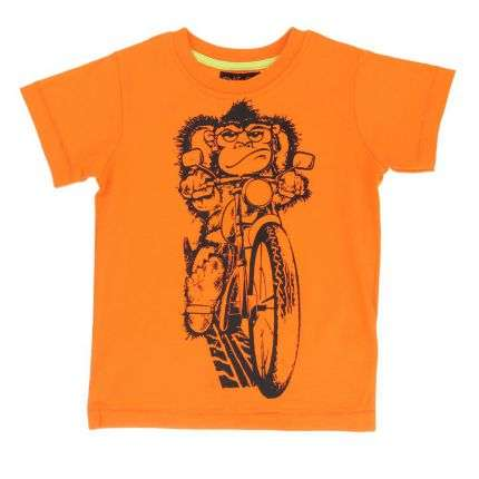 Kinder T-Shirt von Soul & Glory - orange