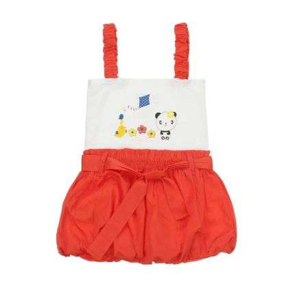 Kinder Kleid von Kanz - orange