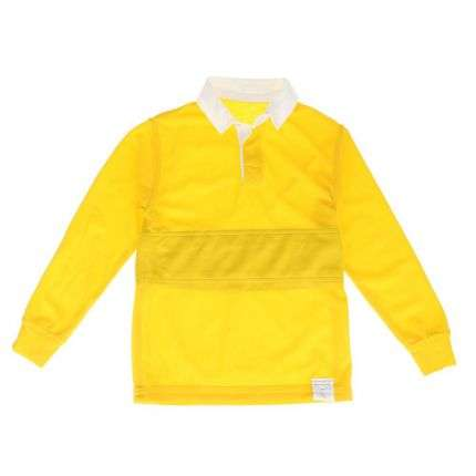 Kinder Langarmshirt - yellow