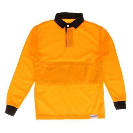Kinder Langarmshirt - orange
