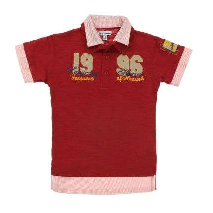 Kinder T-Shirt von Collection - red