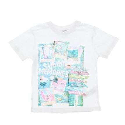 Kinder T-Shirt von Charanga - white