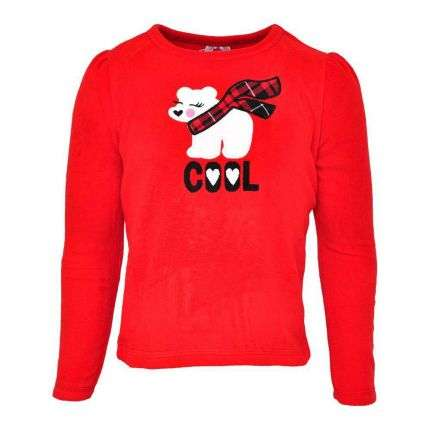 Kinder Langarmshirt von 365 Kids Garanimals - red