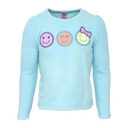 Kinder Langarmshirt von 365 Kids Garanimals - turkis