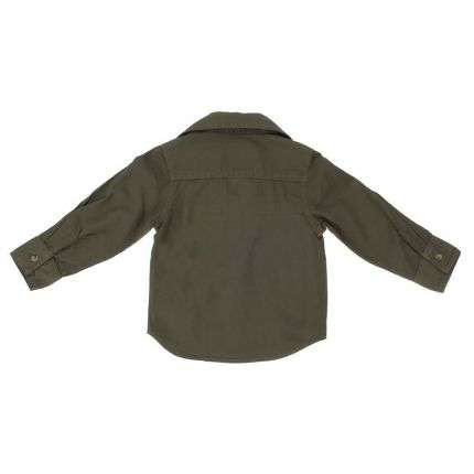 Kinder Langarmshirt von Little Rebel - khaki