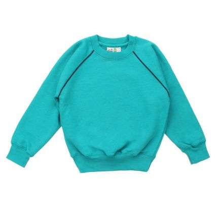 Kinder Pullover von Solid - green