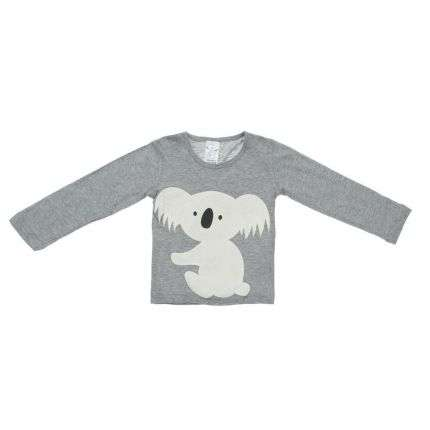 Kinder Langarmshirt von Young Dimension - grey
