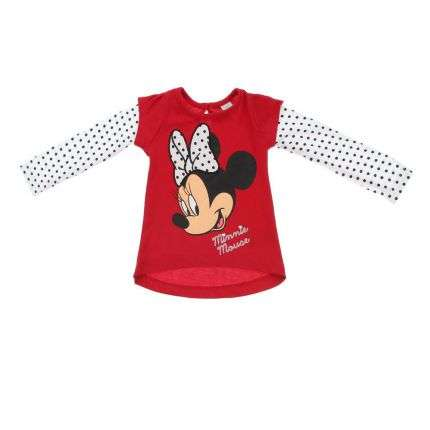 Kinder Langarmshirt - red