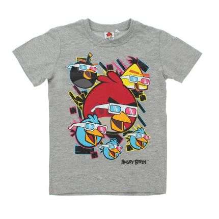 Kinder T-Shirt - grey