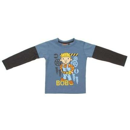 Kinder Langarmshirt - grey
