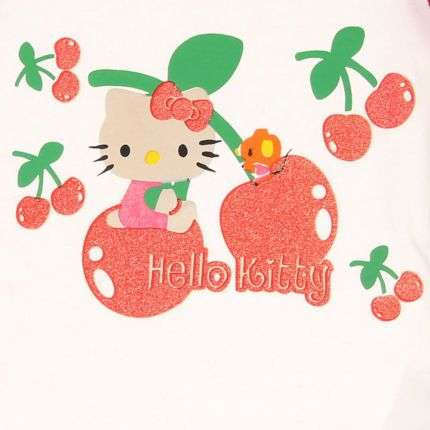 Kinder T-Shirt von Hallo Kitty - red
