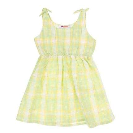 Kinder Kleid- L.green
