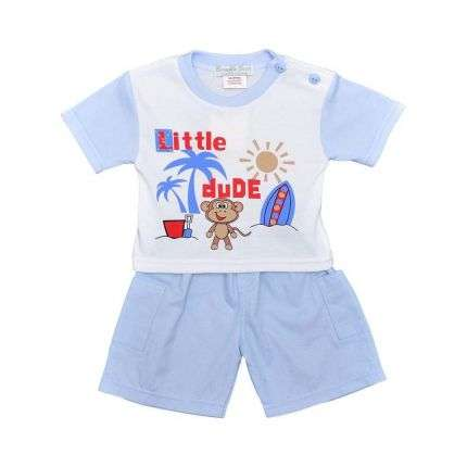 Kinder Shorts/Shirt von Bumble Bear - blue