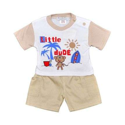 Kinder Shorts/Shirt von Bumble Bear - yellow