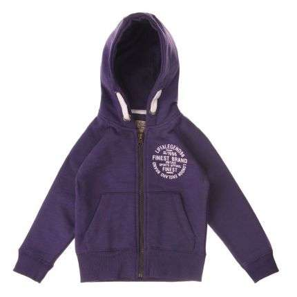 Kinder Kapuzenpulli von Life And Legend - purple