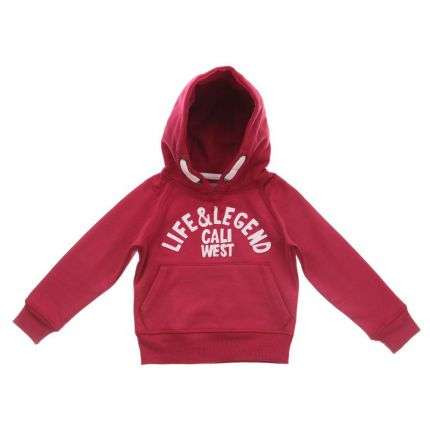 Kinder Kapuzenpulli von Life And Legend - red