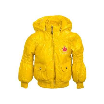 Kinder Jacke von Bg France 1988 - yellow