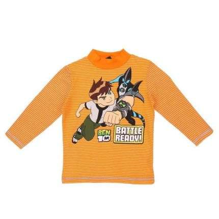 Kinder Langarmshirt- orange