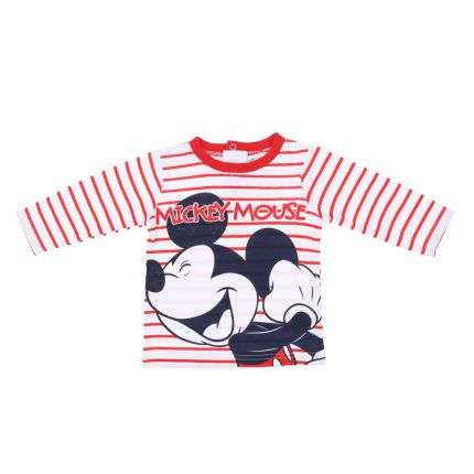 Kinder Langarmshirt- red
