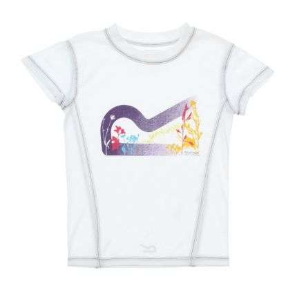 Kinder T-Shirt von Regatta - white