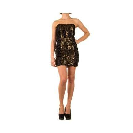 Damen Kleid Gr. one size - gold²